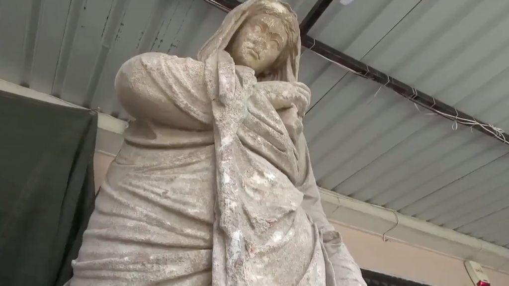 Foto: 6 Patung Berusia 2.000 Tahun Ditemukan di Turki
