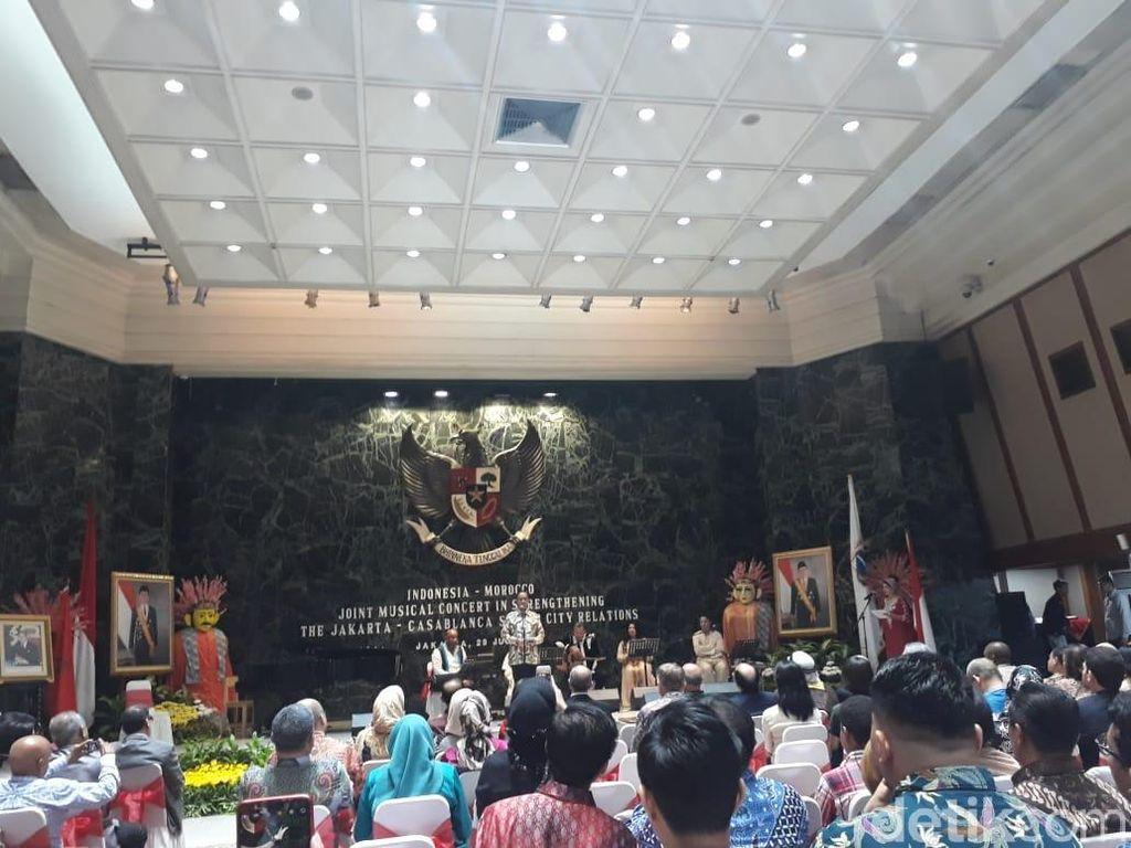 Perkuat Sister City, Pemprov Gelar Konser Musik Indonesia-Maroko