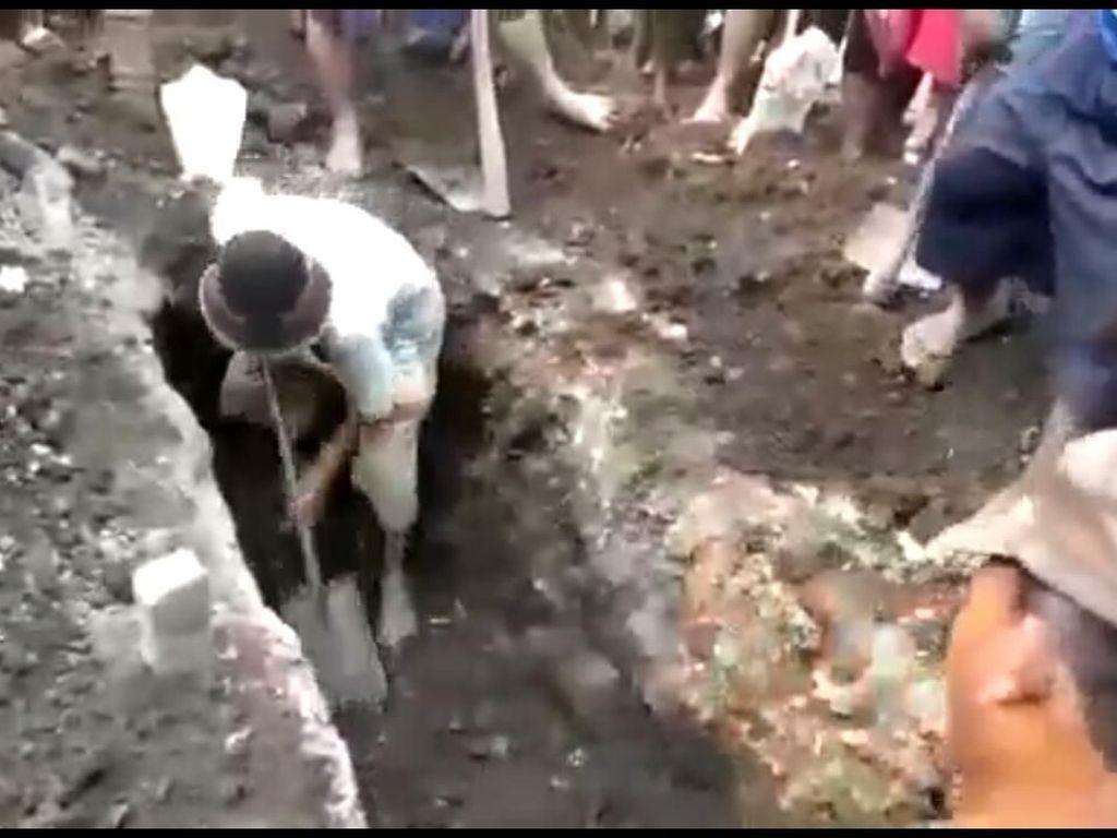 Makam Dibongkar di Sidoarjo Dilaporkan, Ini Tindakan Polisi