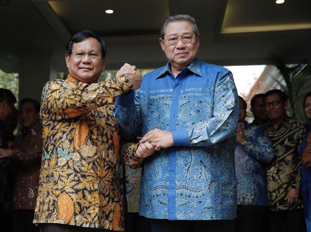 Ini yang Dibahas Prabowo dan SBY dalam Pertemuan di Kuningan