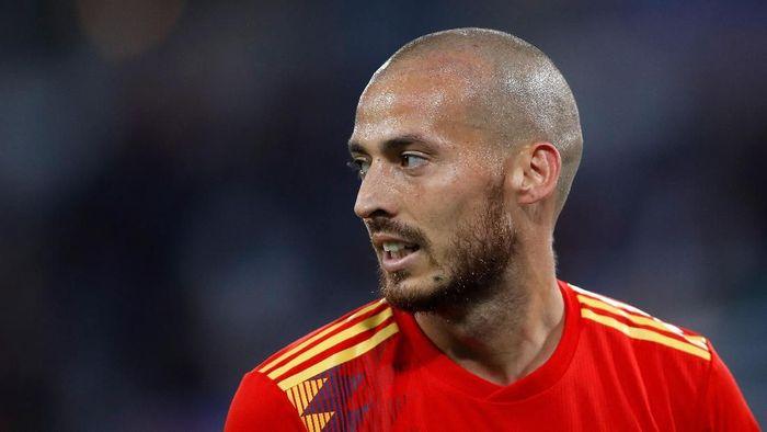 David Silva mempertimbangkan pensiun dari timnas Spanyol. (Foto: Julian Finney/Getty Images)