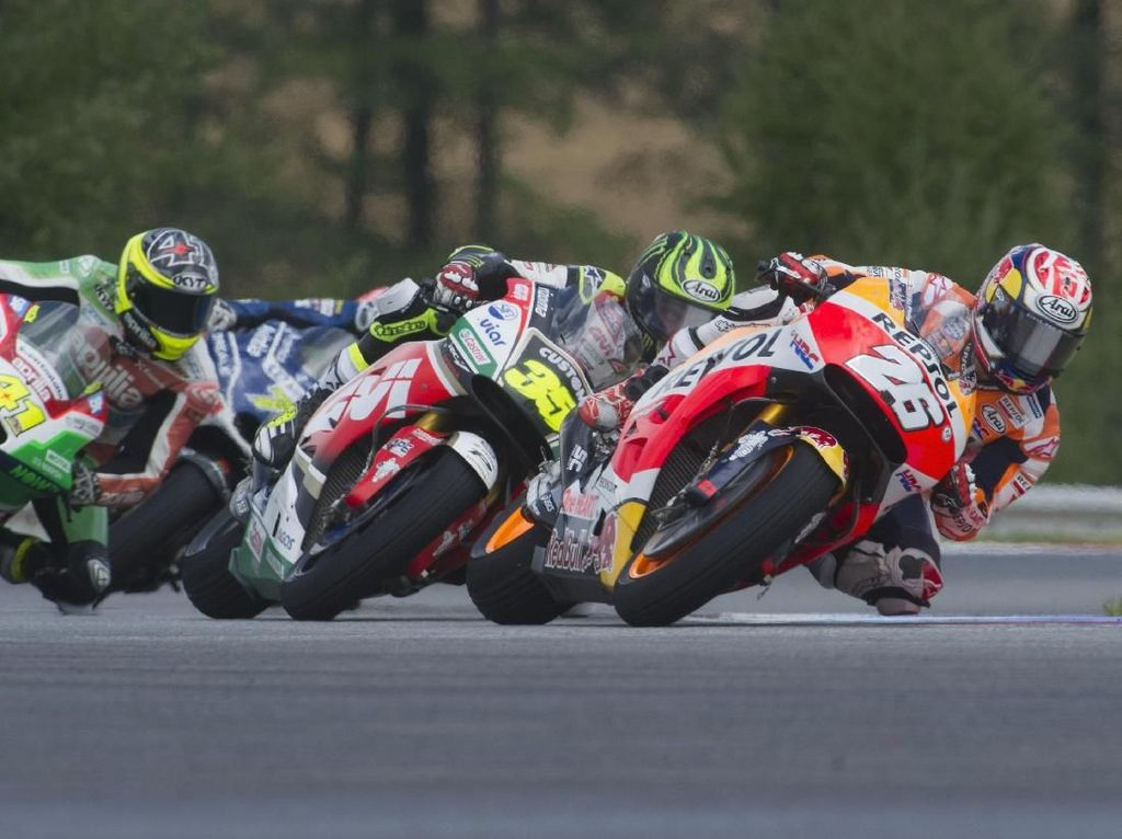 Tonton di Sini: Live Streaming MotoGP Republik Ceko