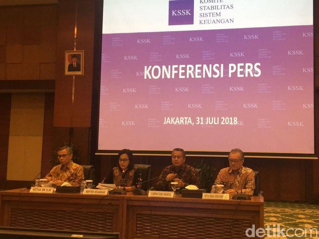 KSSK Umumkan Sistem Keuangan RI Masih Aman