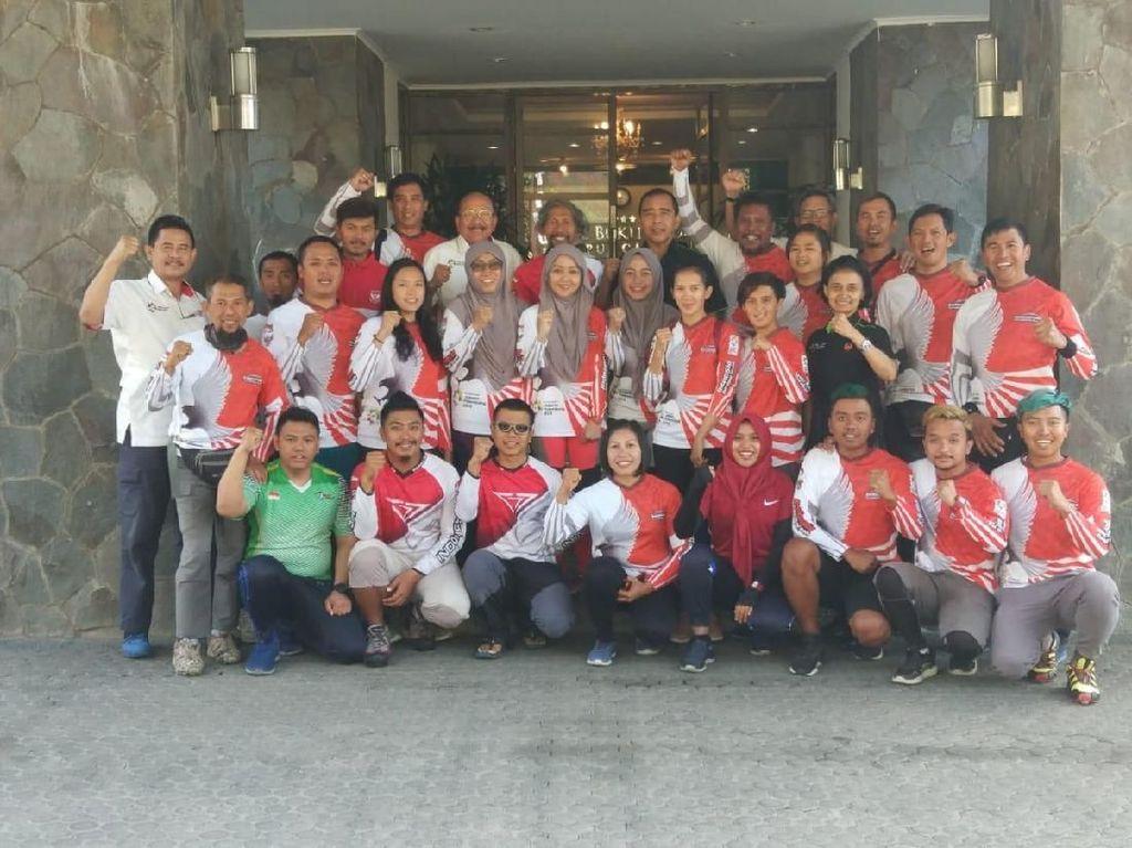 Kunjungi Pelatnas Paralayang, KONI: Semoga Target Emas Terpenuhi