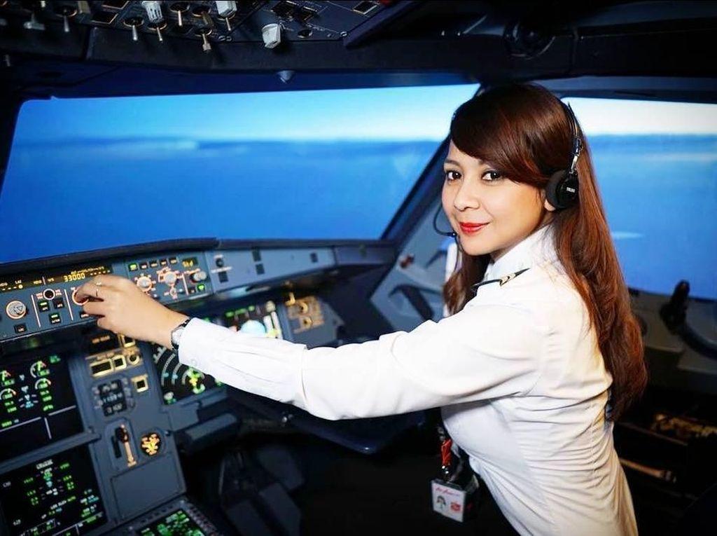 Foto: Intip Liburannya Pilot Wanita AirAsia Asal Indonesia