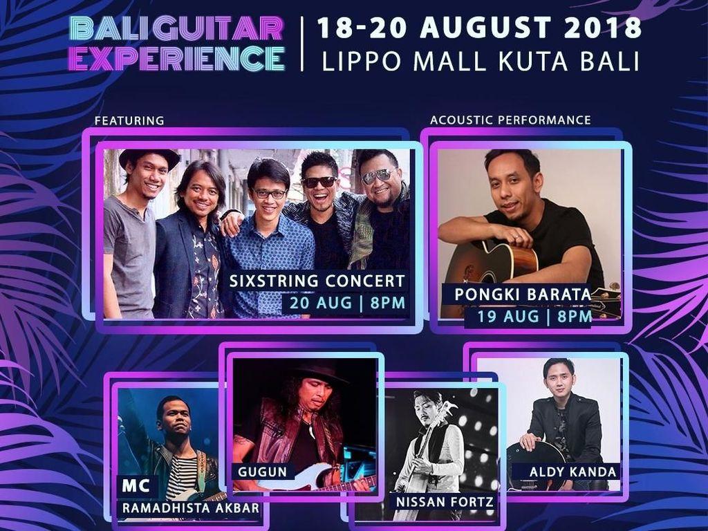 Gengs! Kamu Diundang ke Bali Guitar Experience