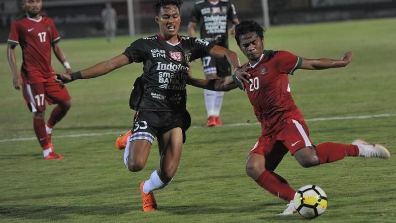 Timnas Indonesia U-23 Tekuk Bali United 2-1 di Laga Uji Coba