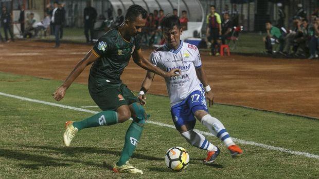 Ghozali Siregar mencetak gol yang menentukan langkah Persib ke perempat final.