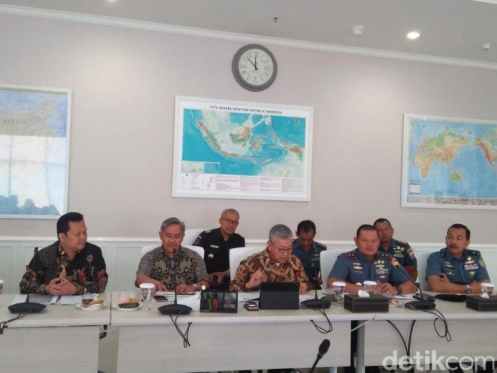 Kapal Kampus Penangkap 1 Ton Hiu Diamankan di Natuna