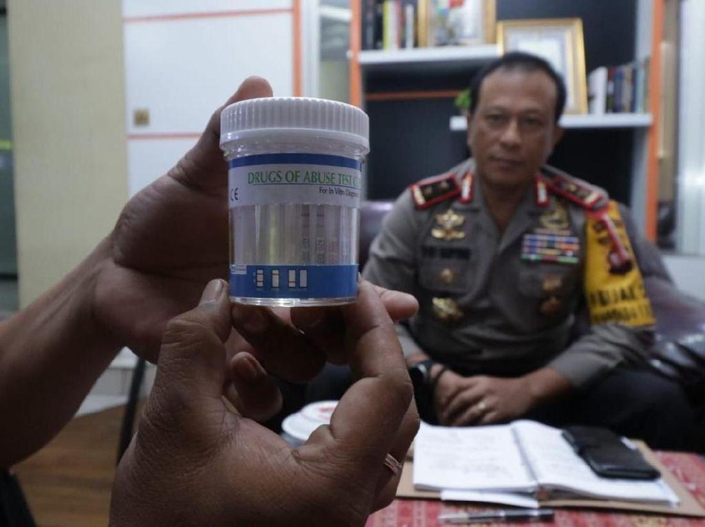 Pasca Kasus AKBP Hartono, Pejabat Utama Polda Kalbar Dites Narkoba