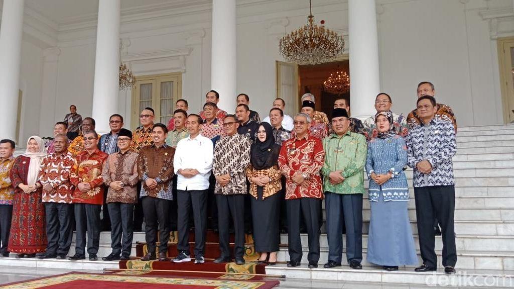 Nurdin Abdullah dan Para Bupati Salam 2 Periode di Istana Bogor