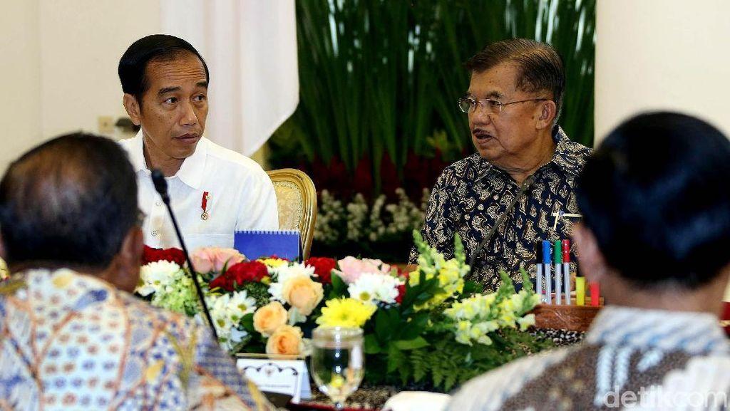 Jokowi Pimpin Rapat Terbatas Soal Cadangan Devisa