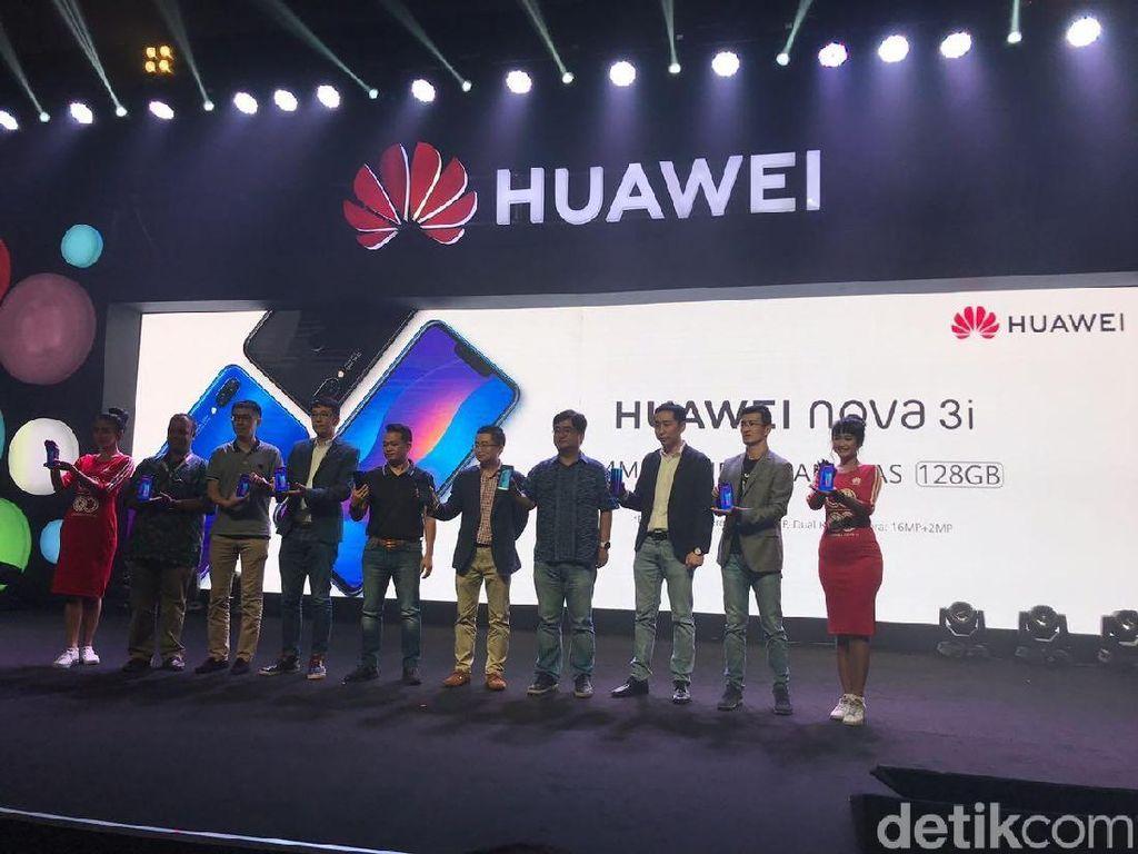 Usung 4 Kamera, Ini Harga Huawei Nova 3i di Indonesia