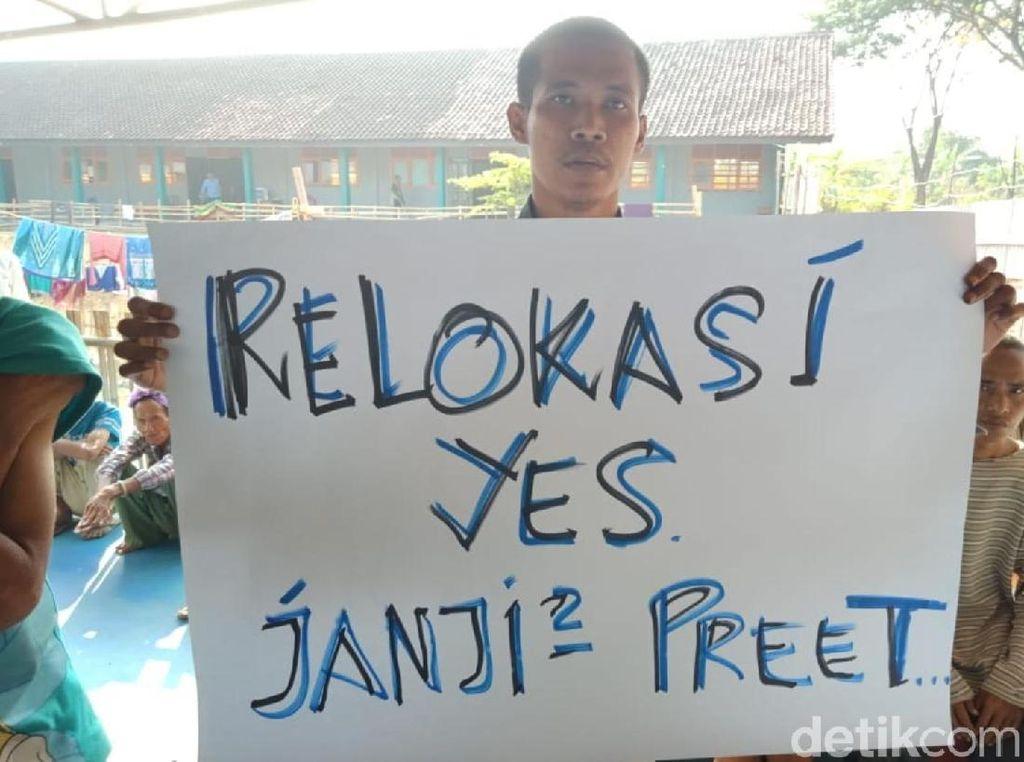 Unjuk Rasa, Penderita Gangguan Jiwa di Sukabumi Tagih Janji Relokasi