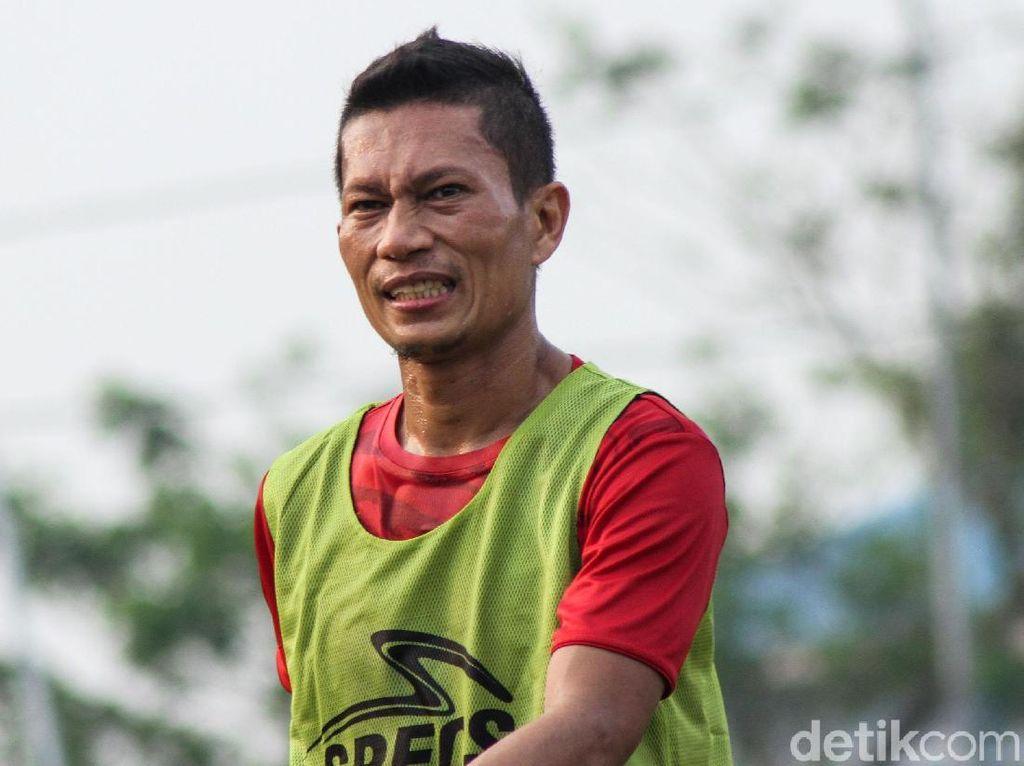 Kapten Persija Ismed Sofyan Fokus Latihan di Tengah Gosip Selingkuh