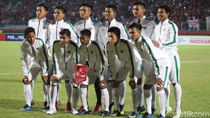 Pemain timnas Indonesia U-16. (Foto: Suparno/detikSport)