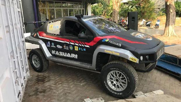 Mobil Listrik dan Biodiesel ITS untuk Reli Dakar 2019