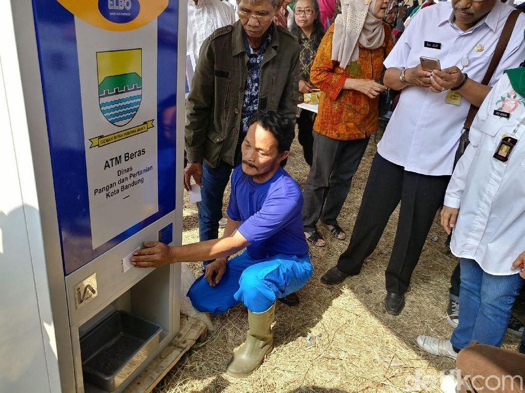 Pemkot Bandung Segera Tambah 6 ATM Beras Warga Miskin