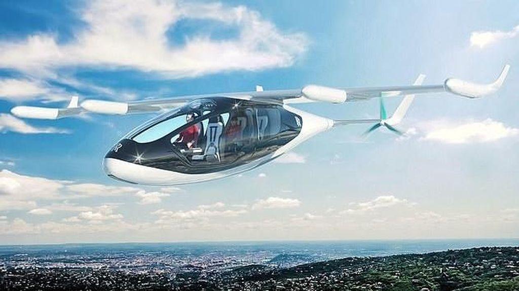 Foto: Taksi Terbang yang Siap Mengudara Tahun Depan