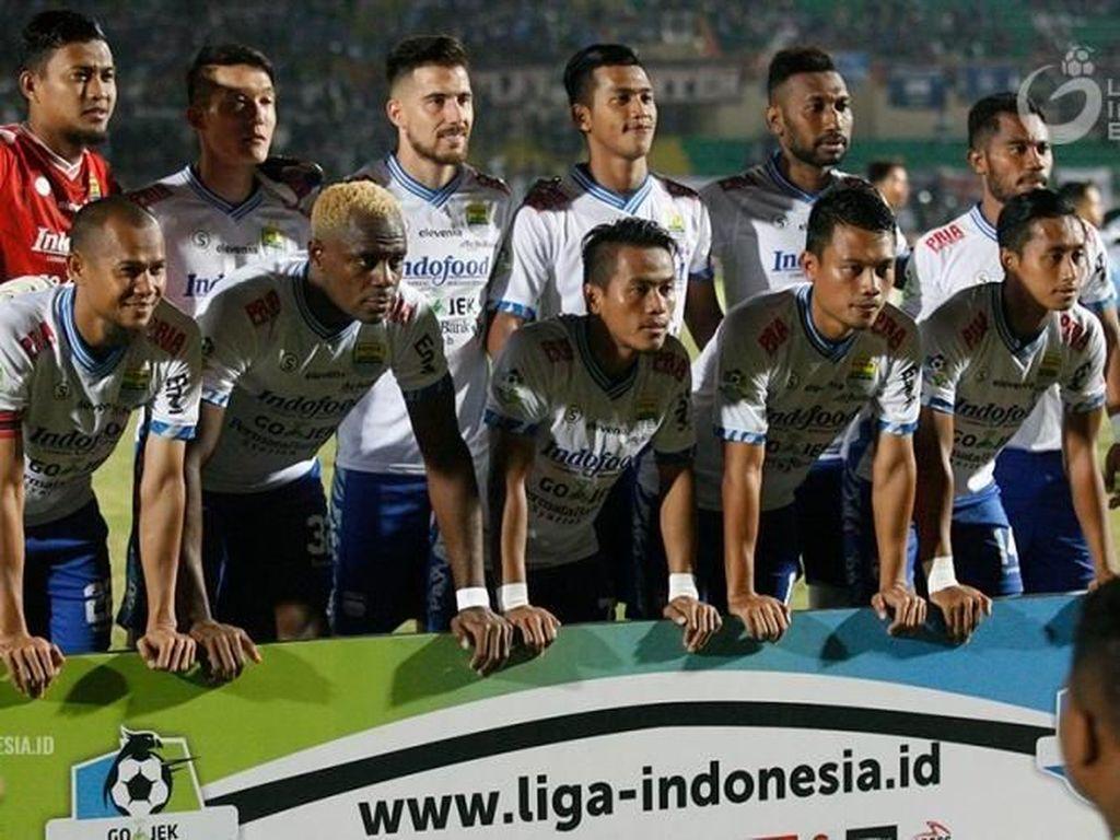 Persib vs Sriwijaya FC: Misi Maung Bandung Pertahankan Puncak Klasemen