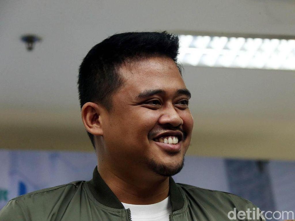 Ekspresi Bahagia Bobby Suami Kahiyang Ayu Sambut Anak Pertama