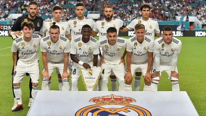 Real Madrid mulai berlaga di pramusim, dalam langkah awal sepeninggal Cristiano Ronaldo (Foto: Jasen Vinlove-USA TODAY Sports)