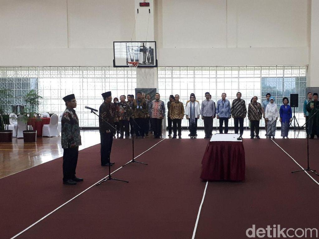 Jabatan Deputi Pengawasan Internal KPK Resmi Diisi Wajah Baru