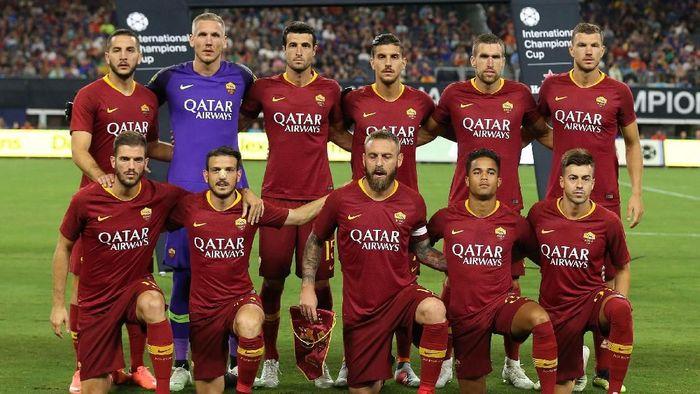 AS Roma masuk pot kedua di pengundian fase grup Liga Champions 2018/2019 (Kevin Jairaj-USA Today Sport/Reuters)