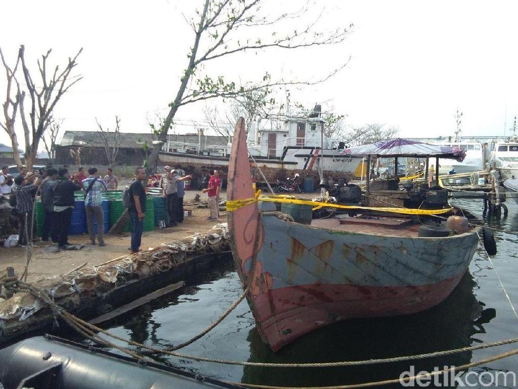 Polda Jateng Periksa Polisi Bos Kapal Pembawa 10 Ton BBM Ilegal