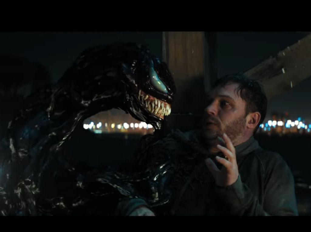 Cara Tom Hardy Perankan Dua Karakter untuk Venom