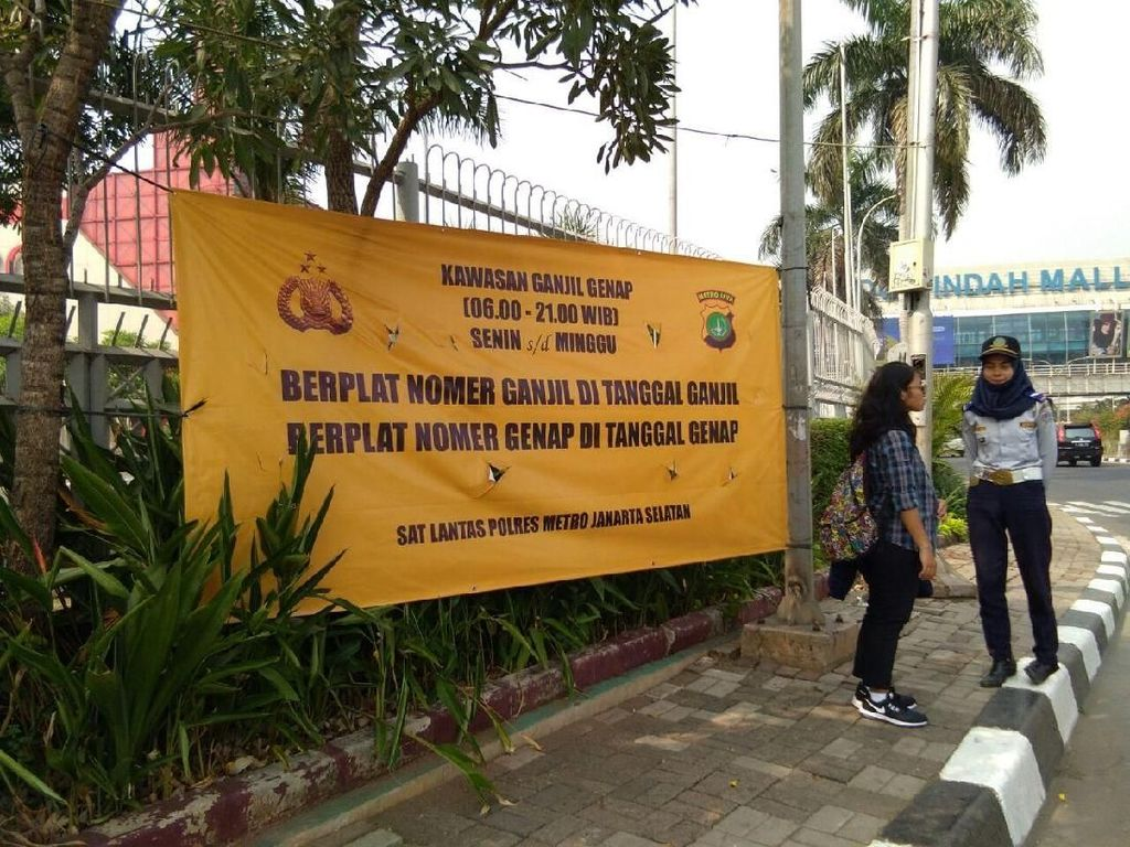 Asian Games Usai, Ganjil-Genap Masih Berlaku