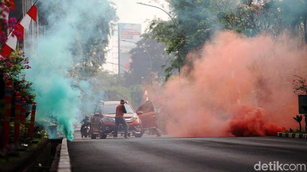 Begini Serunya Simulasi Penanganan Teroris di Senayan