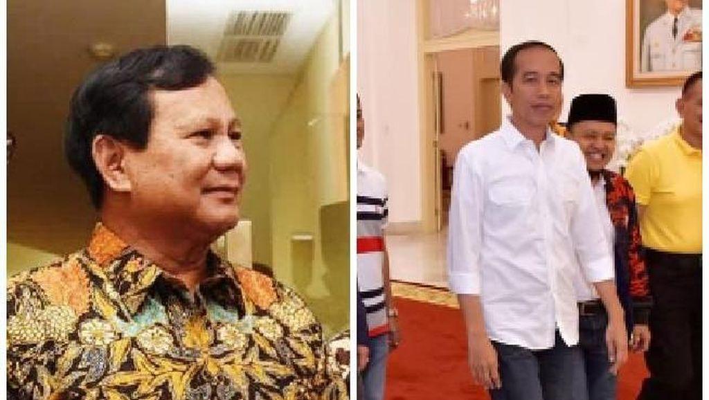 Foto: Gaya Formal Koalisi Prabowo vs Santainya Koalisi Jokowi