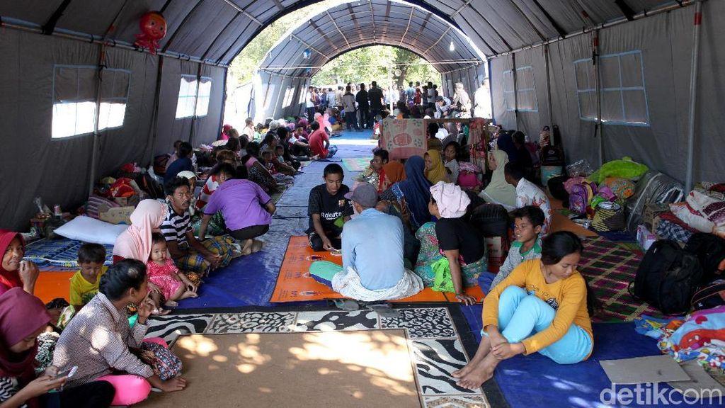 Begini Kondisi Pengungsian Korban Gempa di Lombok