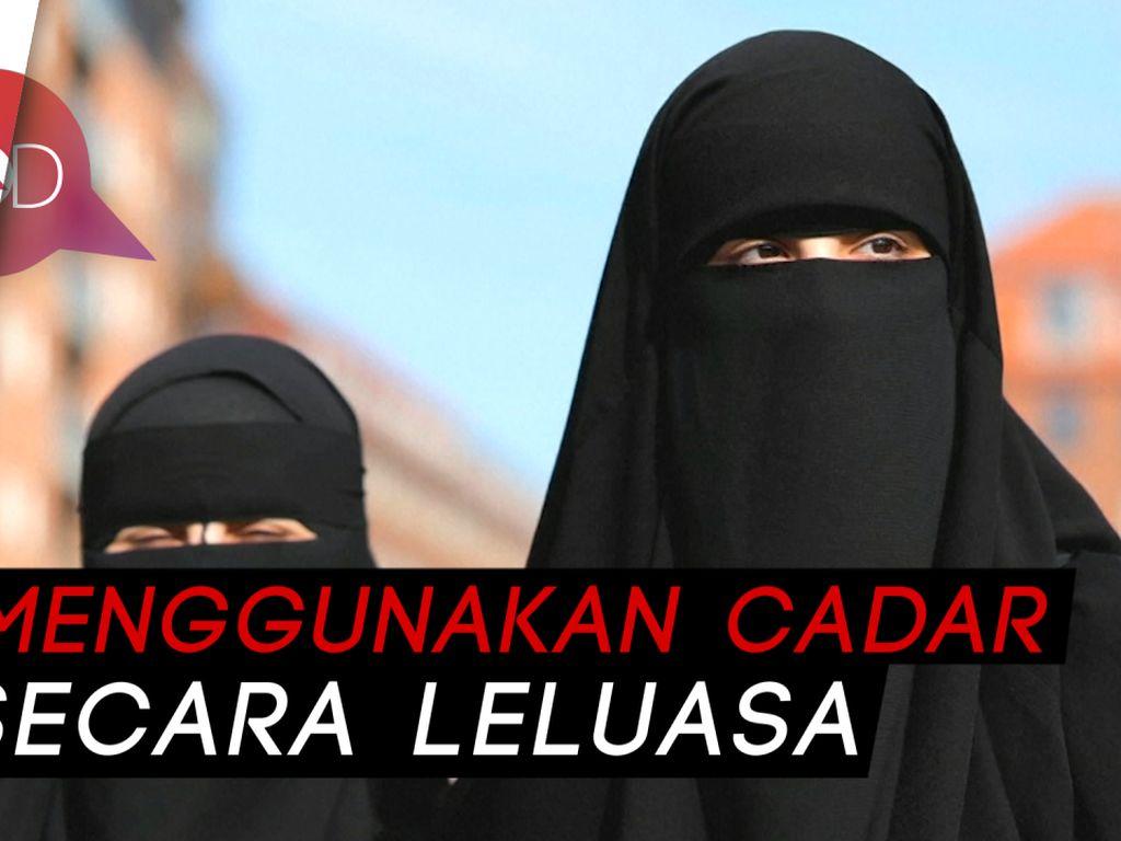Wanita Cadar di Denmark, Melawan Peraturan, Mempertahankan Hak