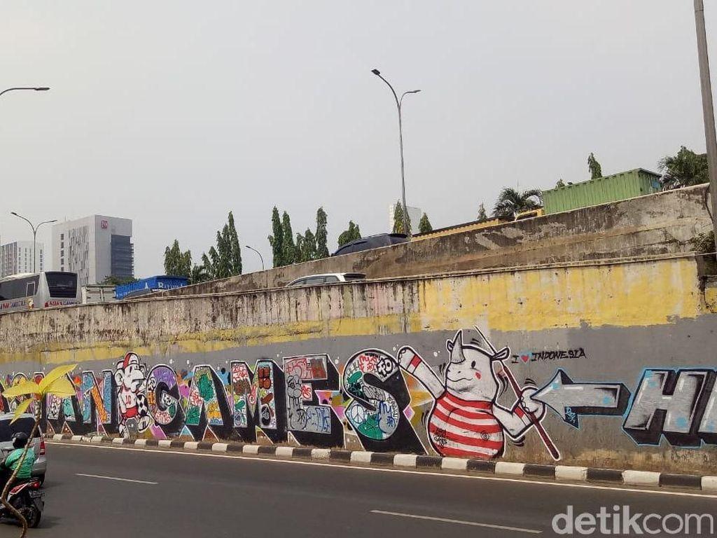 Beautifikasi Mural Asian Games Anies Dinilai Hanya Teori
