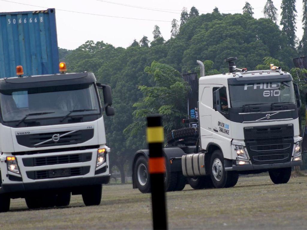 Tantangan Mengemudikan Truk Volvo