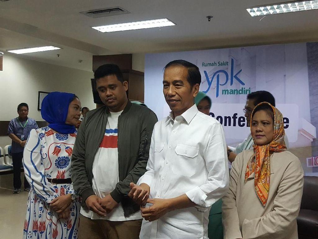 Video: Senyum Jokowi Dianugerahi Cucu Perempuan Pertama