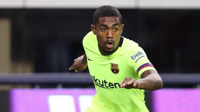 Dibeli mahal, Malcom baru bermain 25 menit bersama Barcelona musim ini. (Foto: Matthew Emmons-USA TODAY Sports/Reuters)