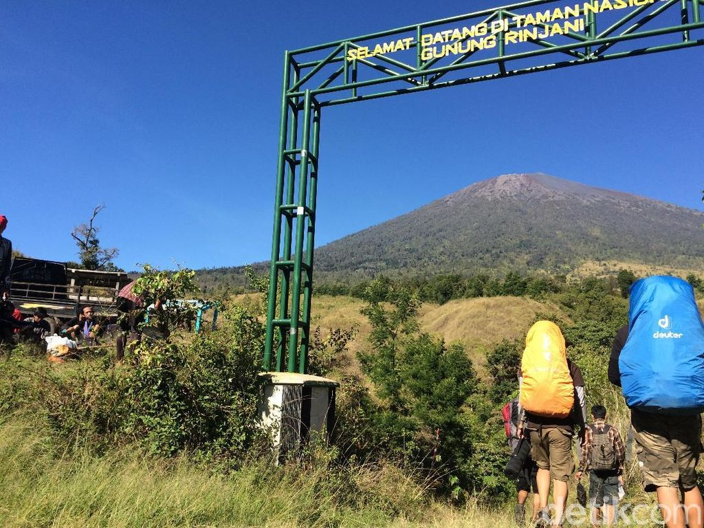 Tentang 4 Jalur Pendakian Resmi Gunung Rinjani, Apa Saja?