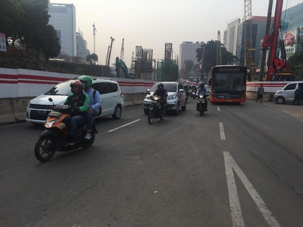 Alasan Polisi Belum Tilang Pelanggar Ganjil Genap di Jl MT Haryono