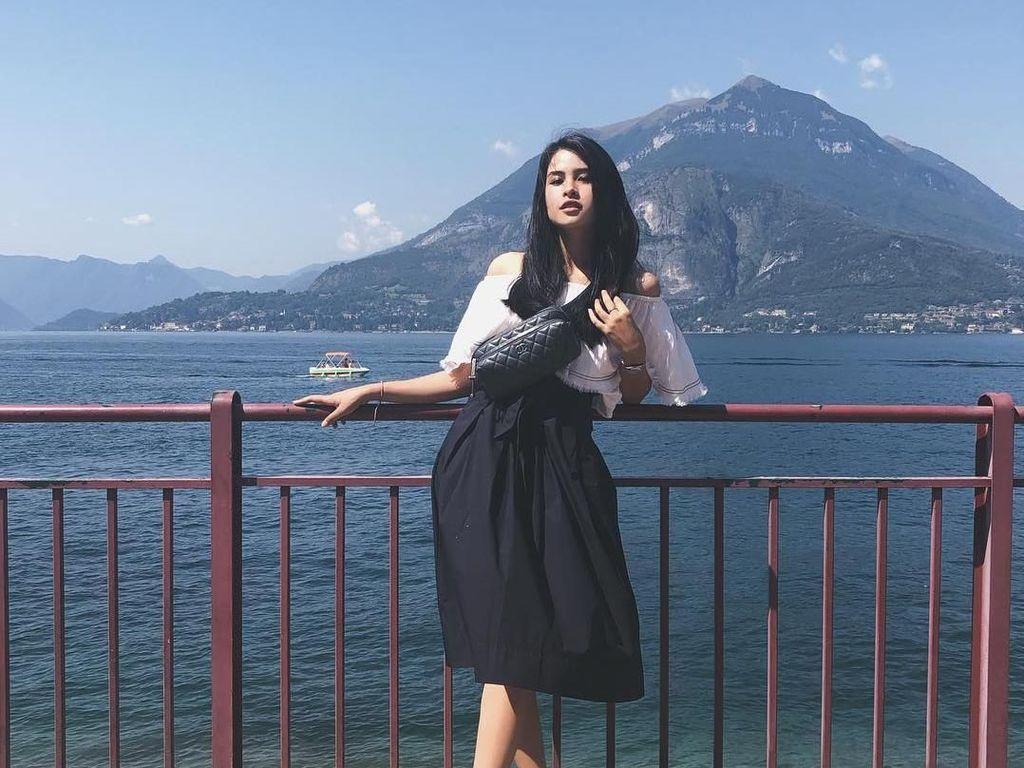 Foto: Terpesona Italia dan si Cantik Maudy Ayunda