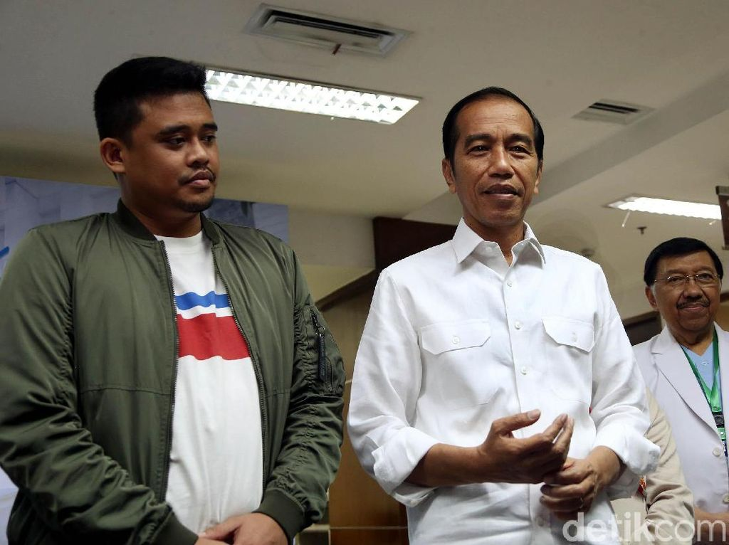 Kata Bobby Nasution Menantu Jokowi soal Peluang Maju Pilwalkot Medan