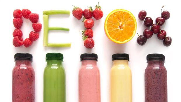 Ilustrasi minuman penurun berat badan
