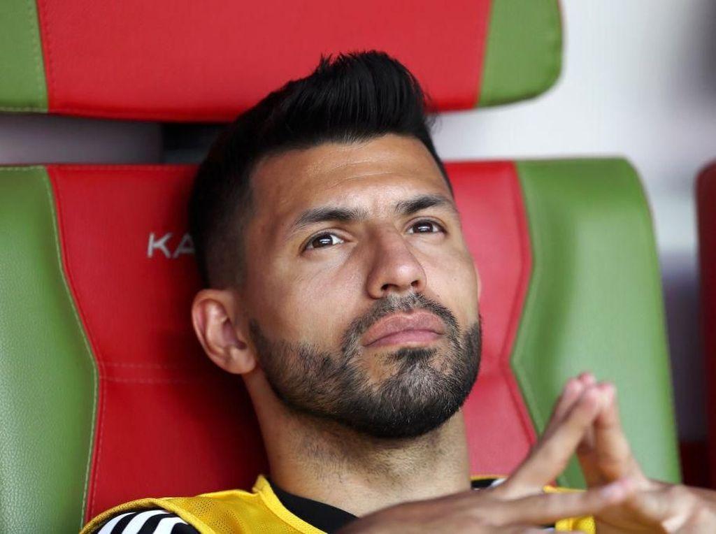 Sergio Aguero Amat Subur di Laga Pembuka Musim, Ini Gol-golnya