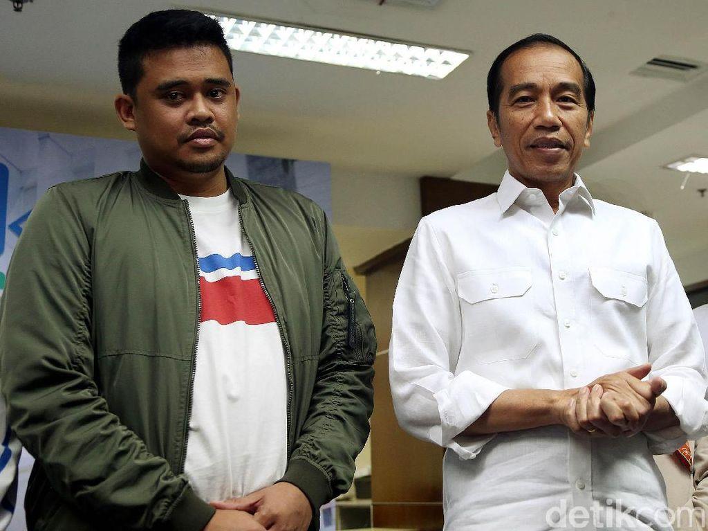 Senyum Bahagia Jokowi Sambut Cucu Keduanya