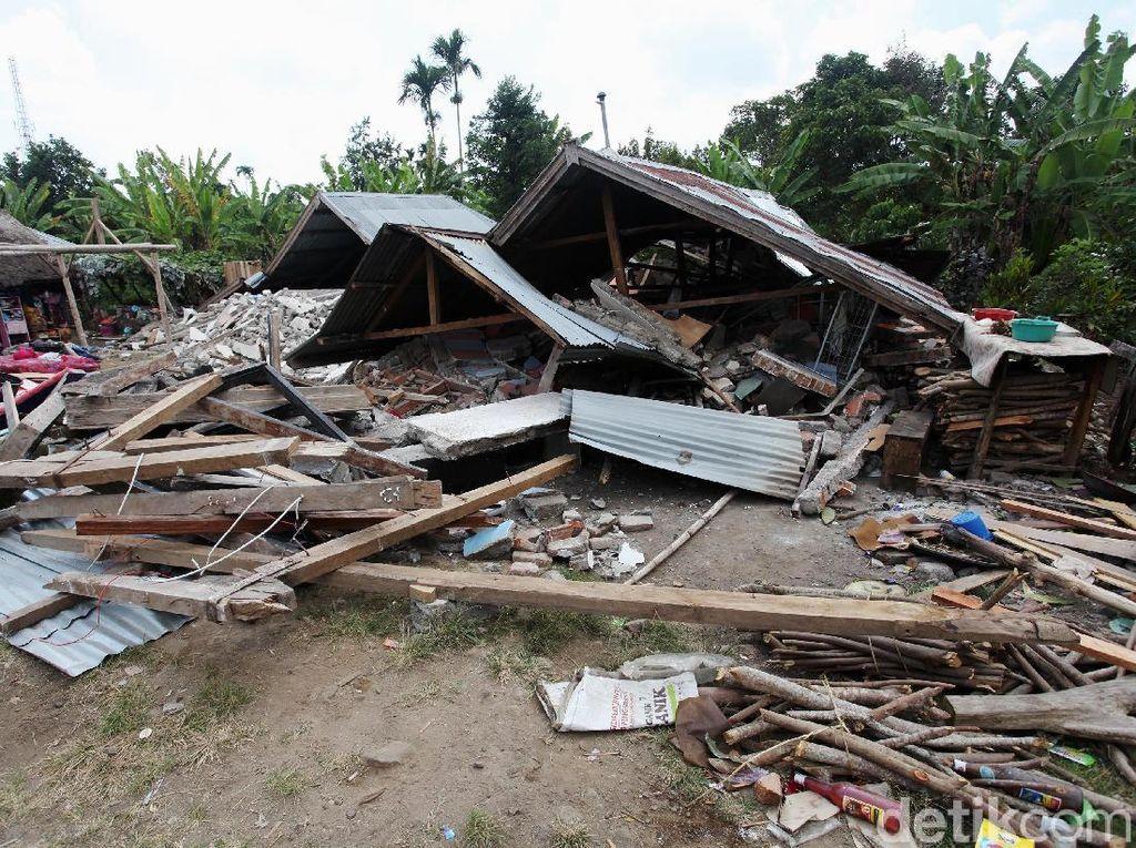 Ini Kerugian dan Kerusakan Gunung Rinjani Pasca Gempa NTB