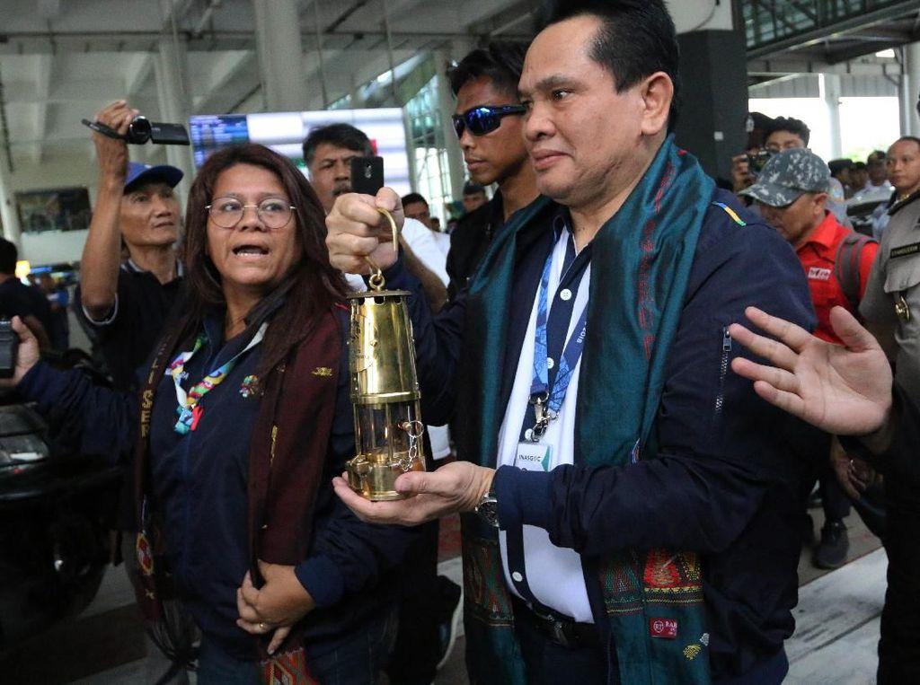 Api Obor Asian Games 2018 Tiba di Rumah Pengasingan Soekarno