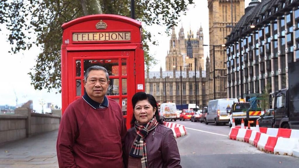 Relationship Goal, Mesranya SBY-Ani Yudhoyono Keliling Dunia