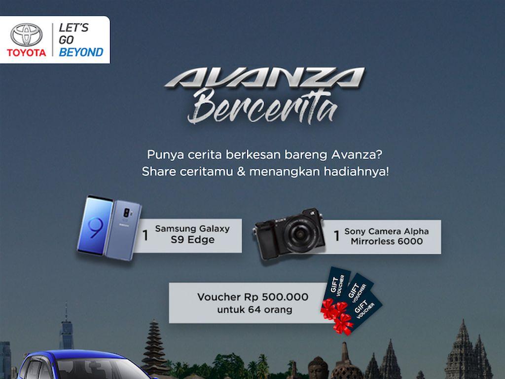 Ikut Kompetisi Avanza Bercerita Bisa Dapat Handphone hingga Kamera